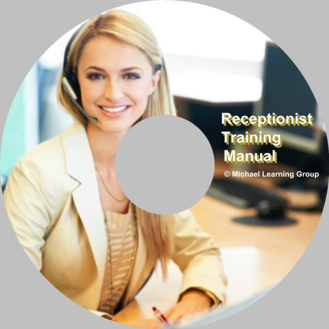 Auto Sales Training - Receptionist Training Manual on CD