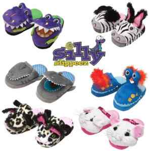 Silly-Slippeez-Kids-Slippers-SEE-VIDEO-Walk-Skip-and-Jump
