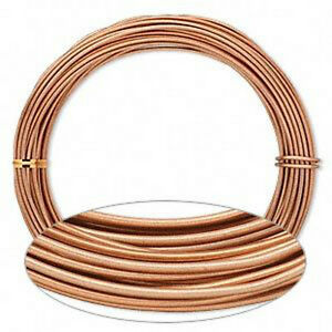 Copper wrapping wire 12 gauge aluminum streampunk jewelry for 12 gauge aluminum craft wire
