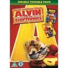 Alvin And The Chipmunks / Alvin And The Chipmunks 2 - The Squeakquel (DVD, 2013, Box Set)