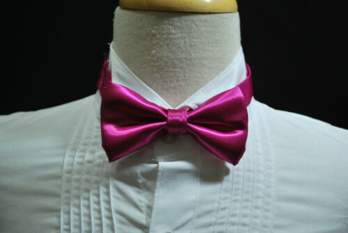 4Color Infant Toddler Boy Adjustable Satin Bowtie Lilac for formal tuxedo /& suit