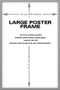 Silver-Wood-Frame-For-36-x-24-Inch-Maxi-Poster