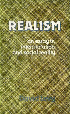 Realism: An Essay in Interpretation and Social Reality, Levy, David, Used; Good