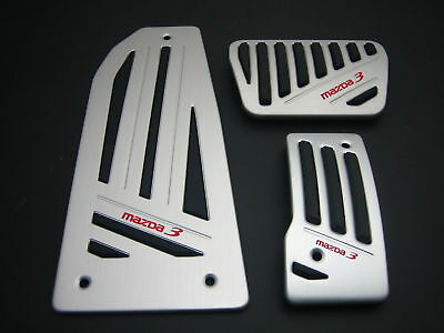 MAZDA3 MAZDA 3 2010 - 2011 Aluminum pedal pad Automatic