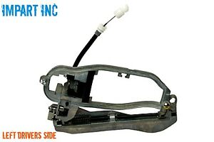 BMW X5 Outer Door Handle Carrier Front with Cable Left Side 51 21 8 ...