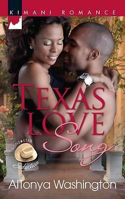 AlTonya Washington, Texas Love Song (Kimani Romance), Very Good Book