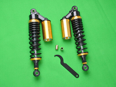 "SHK 12.5"" 320mm Pair Air Gas Shock Absorbers Replacement GL500 Motorbike 650"