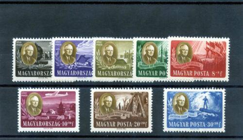 HUNGARY Sc B198A-D, CB1-1C(MI 985-92)**F-VF NH $120