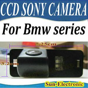 CCD-SONY-CAR-Rear-View-Camera-For-BMW-1-3-5-6-Series-X3-X5-X6-E39-E53-E82-M3-E46