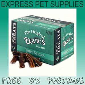 2-5kg-BULK-DEAL-Davies-Tripe-Sticks-Natural-Dog-Treat-Chew-Reward