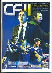 CARDIFF-v-CRYSTAL-PALACE-2012-CARLING-CUP-SEMI-FINAL-2ND-LEG-PROGRAMME