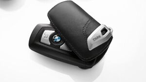 BMW-OEM-Fine-Leather-Key-Case-2012-BMW-F30-Solid-Black