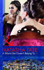 A World She Doesn't Belong to by Natasha Tate (Paperback, 2012)