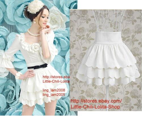 Princess Lolita Cute Sweet Gothic Nana PUNK High waist Cake Mini Shorts Skirt