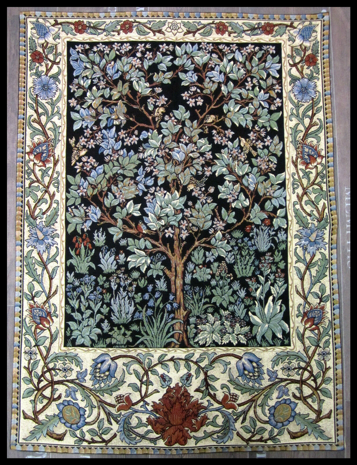 Wall Carpet From Italy Tapestry William Morris Tree Of