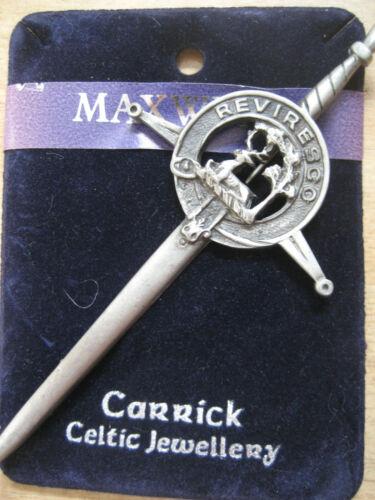 Kilt-Nadel Kiltnadel Kiltpin Keltik Schottland für Schottenrock Clan Crest NEU