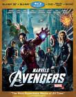 The Avengers (Blu-ray/DVD, 2012, 4-Disc Set, Includes Digital Copy 3D/2D)