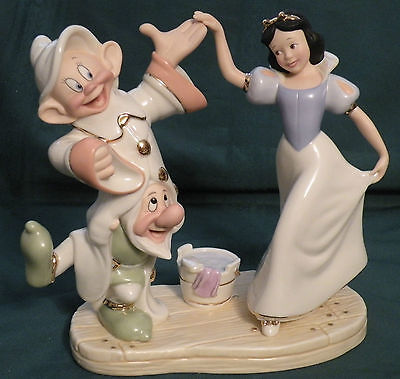 "Lenox Disney ""DANCING With SNOW WHITE"" Limited Edition # 1450 of 3500"