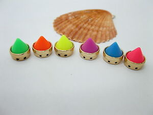 50-Rock-Punk-Spike-Conical-Stud-Beads-Mixed-10mm