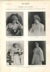 1902-Mme-Jane-Hading-Play-Characters-Haddon-Hall-Manor-House-Stoke-Pogis