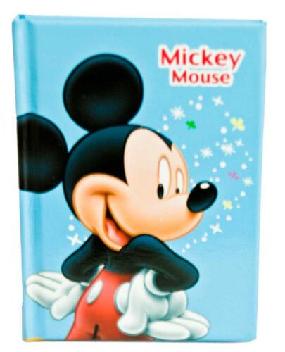 Disney Mickey Mouse Memo Book Autograph Book Blue