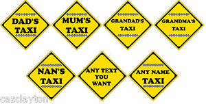Novelty-Taxi-Car-Sign-Choice-Of-7-Styles