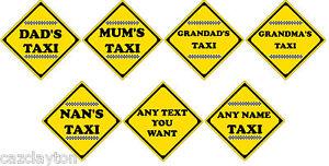 Novelty-Taxi-Car-Sign-Choice-Of-7-Styles