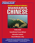 Conversational Mandarin (Chinese) by Pimsleur (CD-Audio, 2005)