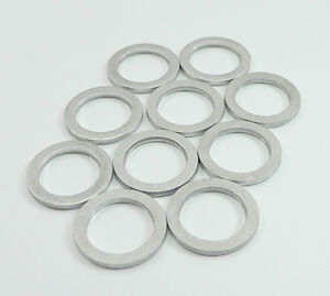 PRE-461099 10mm Crush Washers For Banjo Brake Line Fitting Aluminum 10 Pack
