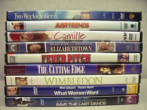 Lot-of-9-DVD-039-s-Two-Weeks-Notice-Just-Friends-Wimbledon-Fever-Pitch-amp-more