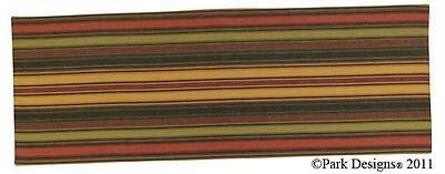 "Wine Cellar Striped Table Runner ~ 13"" x 36"""