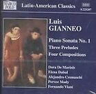 Luis Gianneo - : Piano Works, Vol. 3 (2002)