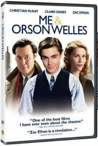 Me and Orson Welles (DVD, 2011) Zac Efron, Christian Mckay, Claire Danes