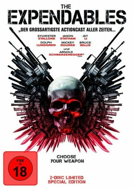 The Expendables Steelschuber  DVD  2-Disc Limited Special Edition RARE