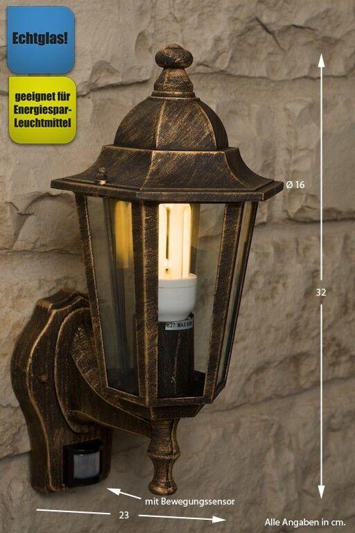 Illuminazione esterno con sensore di movimento Lampada da giardino Classico 8083