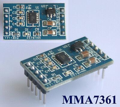 1x MMA7361 Three Axis Accelerometer Sensor Tilt Angle MMA7260 Arduino PIC ATMEL