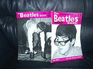 ORIGINAL-AUGUST-1964-The-Beatles-Monthly-Book-No-13-NEAR-MINT