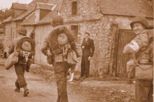 France 44 WW2 Gi/'s de la 9è DI à Ste-Marie-du-Mont
