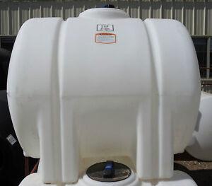 225 Gallon Poly Plastic Water Storage Tank Leg Ebay
