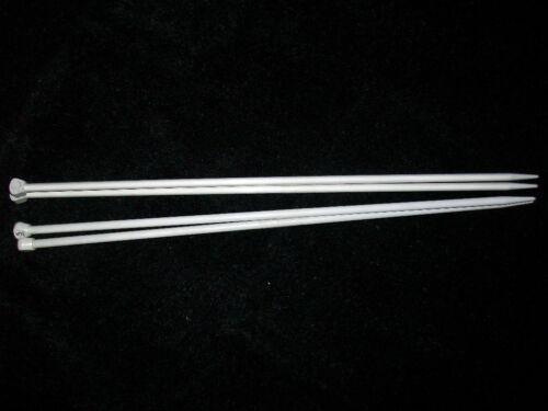 "Pair of AERO 12/""  Knitting needles various sizes..FREEPOST UK  .CHOOSE:"