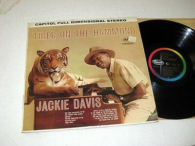 JACKIE DAVIS Tiger On The Organ CAPITOL Stereo