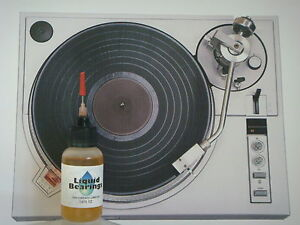 Liquid Bearings, BEST 100%-synthetic oil for Garrard turntables, PLEASE READ!