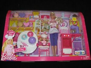 I-CAN-BE-a-SWEET-CHEF-BARBIE-Doll-Kelly-Doll-BAKERY-PLAYSET-play-set