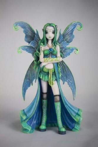"Myka Jelina Gothic Fairy Zoe Statue Elf Hunter Princess 7""H Figurine"