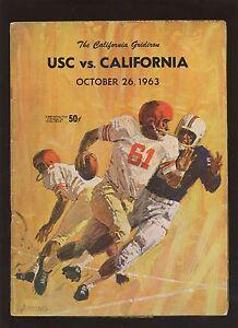 October-26-1963-NCAA-Football-Program-USC-vs-California