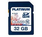 BestMedia Bestmedia Platinum 32GB, Class 10 (20MB/s) - SDHC Karte - Retail - (177118)