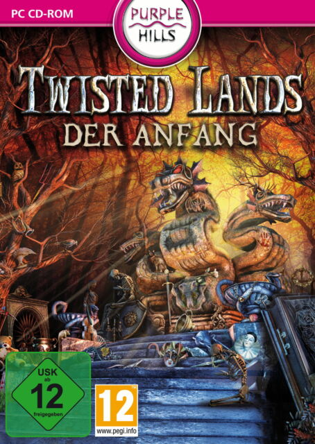 Twisted Lands: Der Anfang (PC, 2012, DVD-Box)