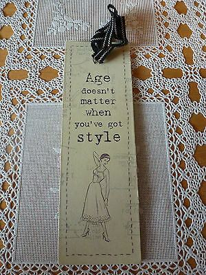 Black Cream Card Bookmark Wisdom Wise Word Inspirational Quote East Of India