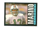 1985 Topps Dan Marino Miami Dolphins #314 Football Card
