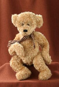 "Plush Teddy Bear 18"" Alber From UK New Last Stock #C113"